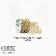 #40 25 YDS Stretch Mesh